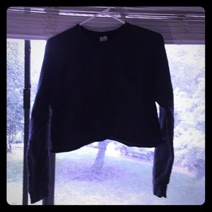 Unit cropped sweater